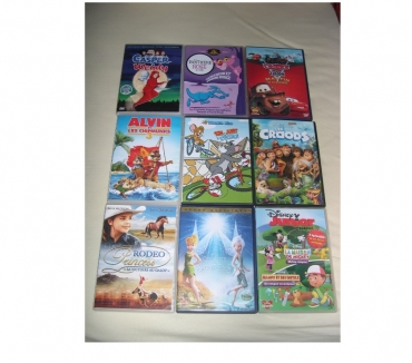 Photos Vivastreet COLLECTIONS FILMS DVD DESSINS ANIMES