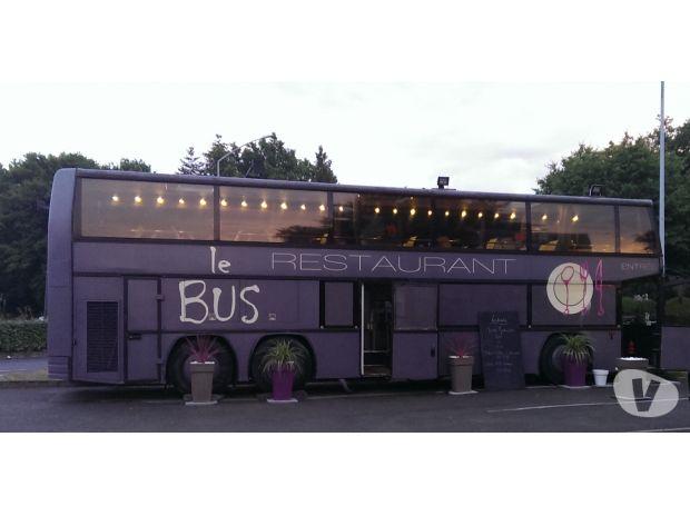 jonckheere food truck bus restaurant vertou 44120 utilitaires occasion pas cher a vendre. Black Bedroom Furniture Sets. Home Design Ideas