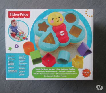 Photos Vivastreet Jeu bébé trieur de forme fisher price papillon.