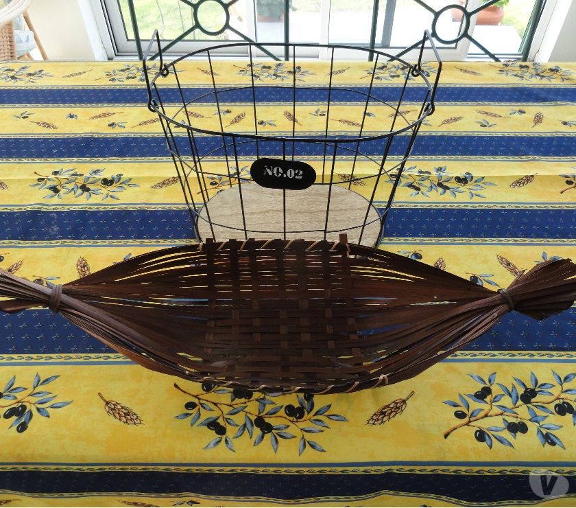 Ameublement & art de la table Sarthe Sable sur Sarthe - 72300 - Photos Vivastreet Panier + corbeille