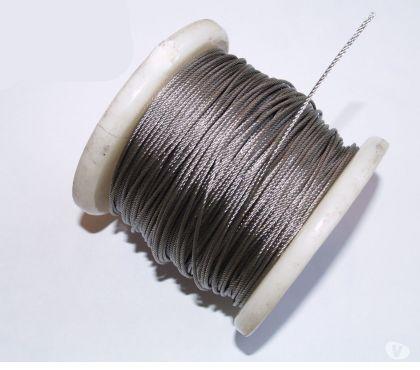 Photos Vivastreet Cable inox 2mm Rouleau de 100 mètres