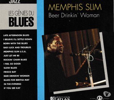 Photos Vivastreet CD Memphis Slim Beer Drinkin' Woman - Les Génies Du Blues