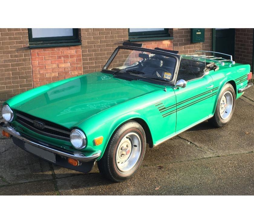 Photos Vivastreet Triumph TR6 Cabriolet 1976 Carbu Java Green