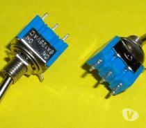 8 mini interrupteurs à levier ON/OFF envoi gratuit