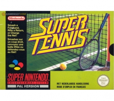 Photos Vivastreet Super Tennis sur Super Nintendo