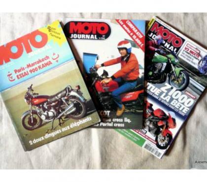 Photos Vivastreet Revues MOTO JOURNAL de 1980 à 1989 à la demande