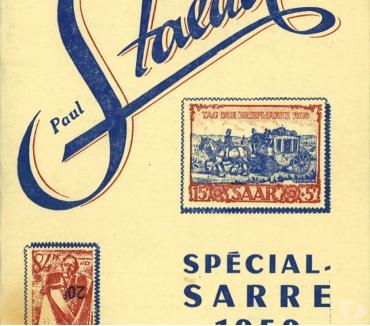 Photos Vivastreet Catalogue des timbres de Sarre , 64 pages, Paul Staedel,