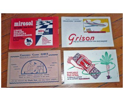 Photos Vivastreet 8 différents BUVARDS publicitaires anciens en bon état