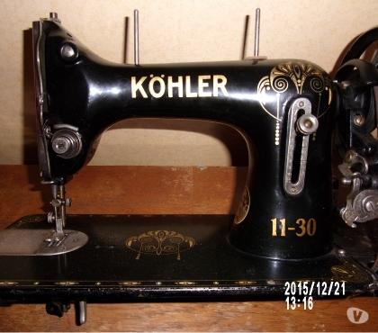 Photos Vivastreet Machine à coudre : Marque « Köhler », fonctionnelle, état mo