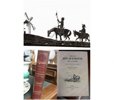Photos Vivastreet DON QUICHOTTE DE LA MANCHE, M. De Cervantès Saavedra, 1845
