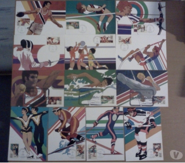 Photos Vivastreet LOT DE TIMBRES THEME SPORTS COTE ENORME