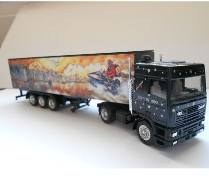 Photos Vivastreet Ho 187 herpa daf 95 semie decoree noire