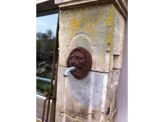 moine de fontaine en pierre - Rainville - 88170 - Matériel ...