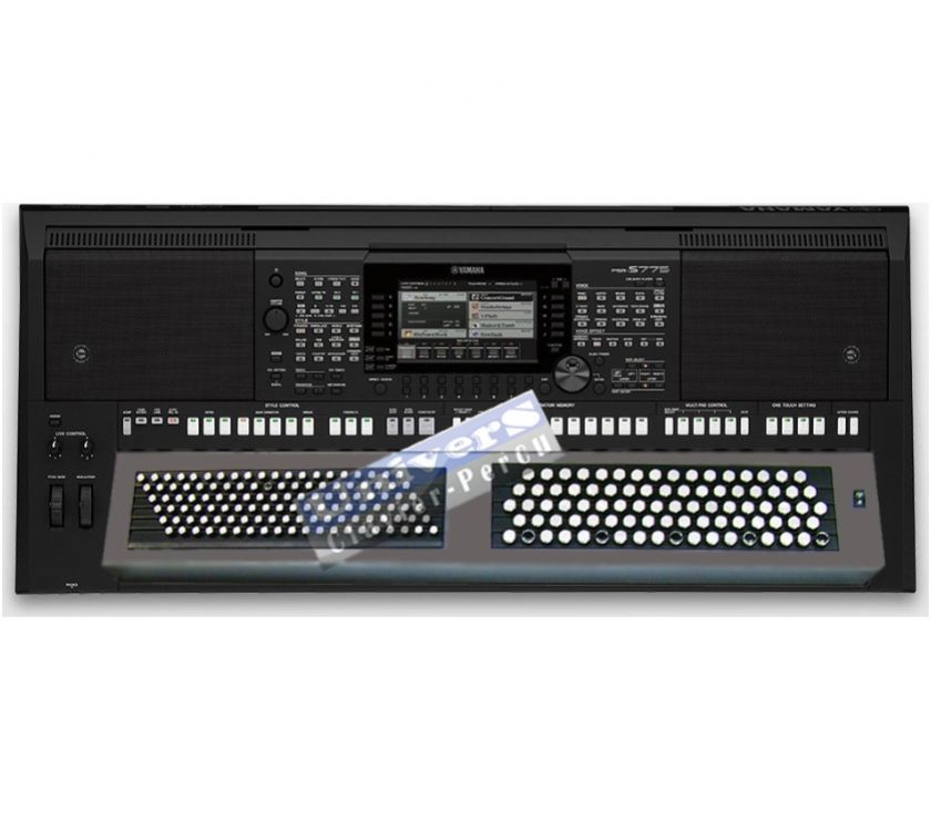 Photos Vivastreet YAMAHA PSR-S775 - clavier BOUTON Accordéon