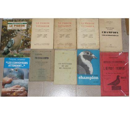 Photos Vivastreet livres pigeons voyageurs