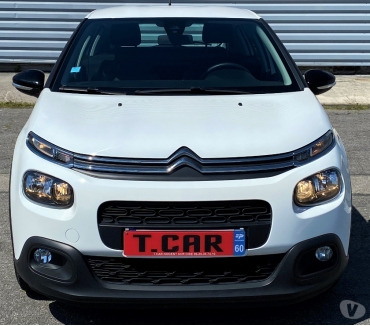 Photos Vivastreet CITROEN C3 III BLUEHDI FEEL STE 102CH BV6 (2 places Déri