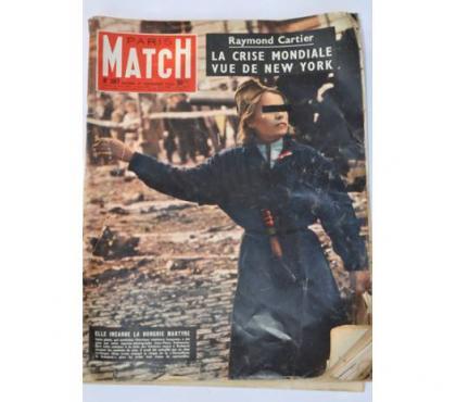 Photos Vivastreet Paris Match n°397 du 17 Novembre 1956