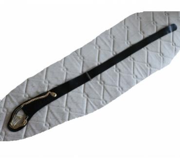 Photos Vivastreet ceinture noire croute de cuir long 93 cm