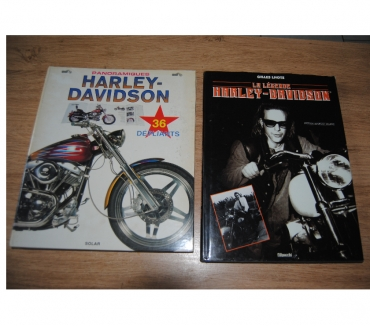 Photos Vivastreet 2 livres sur la moto harleu davidson