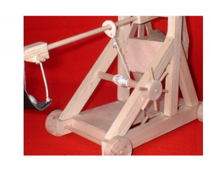 Photos Vivastreet Maquette de trébuchet à roues