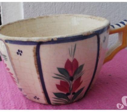 Photos Vivastreet Ancienne tasse QUIMPER HB Hubaudière Bousquet numérotée