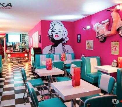 Photos Vivastreet Banquette RETRO FIFTIES restaurant diner snack bar
