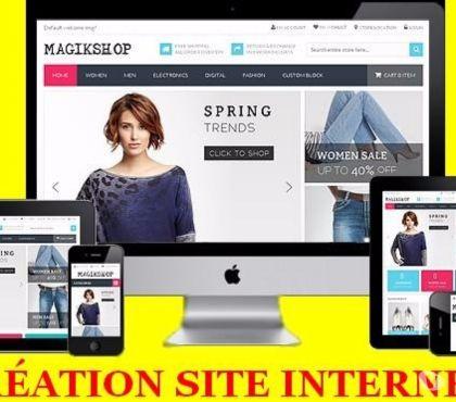 Photos Vivastreet Création de site internet professionnel + Formation à 299€