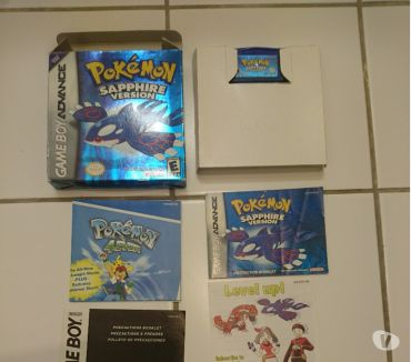 Photos Vivastreet Pokemon Sapphire (US English) Nintendo Game Boy Advance