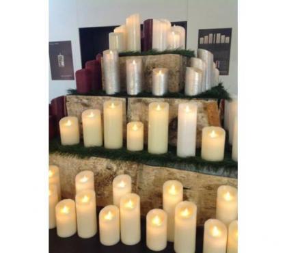 Photos Vivastreet Bougies LED Cire éternelles blanches ou Ivoires