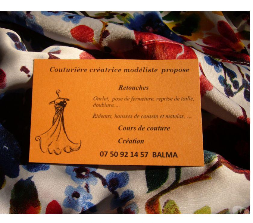 Artisans & dépannages Haute-Garonne Balma - 31130 - Photos Vivastreet Couture - Retouche