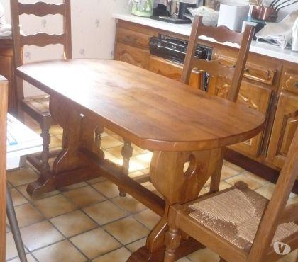 Photos Vivastreet table + chaises