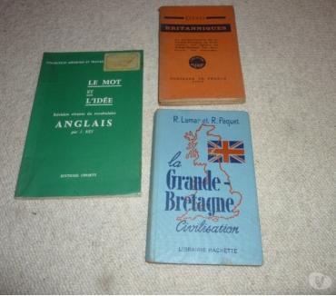 Photos Vivastreet 3 livres pour les études d'anglais