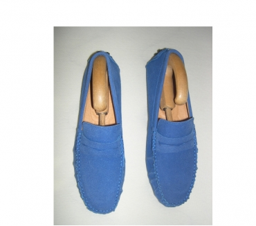 Photos Vivastreet MOCASSINS BLEU HOMME CUIR POINTURE 44