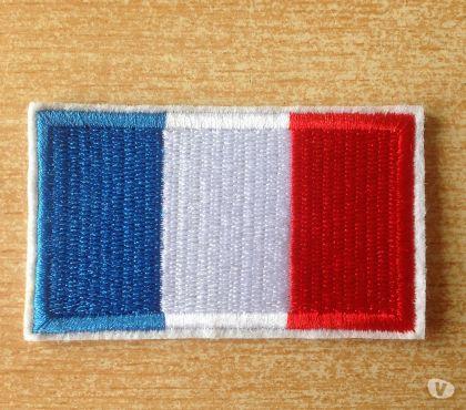 Photos Vivastreet écusson brodé drapeau francais france 6,5x4 cm thermocollant