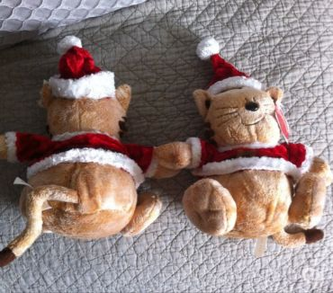 Photos Vivastreet LOT DE 2 PELUCHES OURS NOEL NEUVES