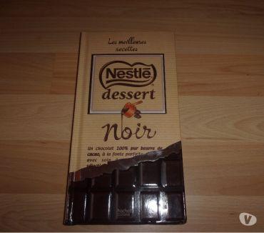Photos Vivastreet Livre Les Meilleures recettes Nestlé Noir (Neuf)