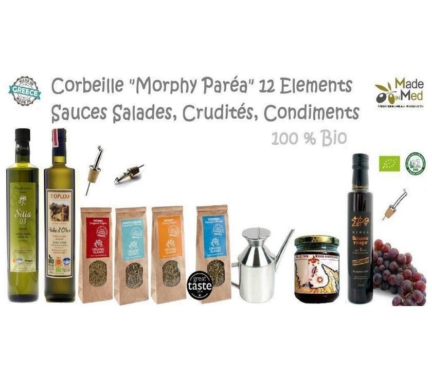 """Photos Vivastreet Corbeille Héllénique """" Morphy Parea"""" 12 Elèments - 100% Bio"""