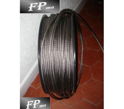 Photos Vivastreet Cable inox 4mm Rouleau de 100 mètres