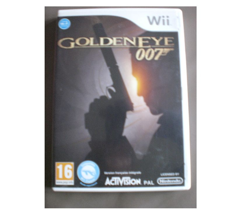 "Photos Vivastreet Jeu de WII ""Goldeneye - 007"""