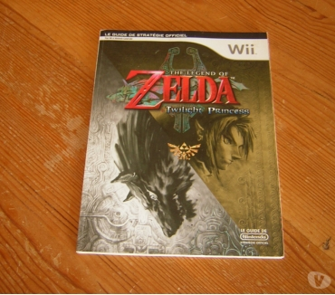 Photos Vivastreet Zelda Twilight Princess guide officiel WII Gamecube