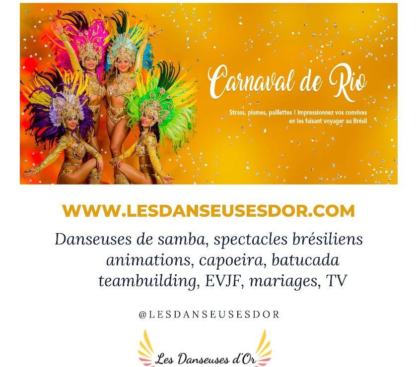 Photos Vivastreet spectacle brésilien des Danseuses d'Or