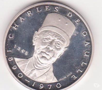 Photos Vivastreet rare medaille CH DE GAULLE tirage limité
