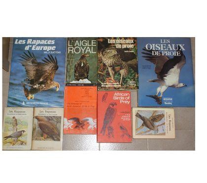 Photos Vivastreet 9 livres rapaces oiseaux de proie