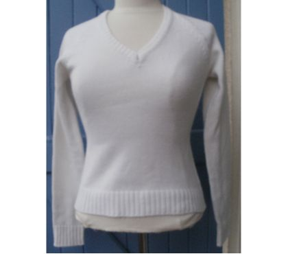 Photos Vivastreet Pull blanc, marque JENNYFER Taille S