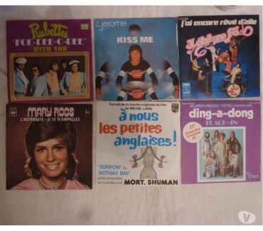 Photos Vivastreet Vinyles 45t Rubettes-CJérôme-Abba-MaryRoss-MortShuman