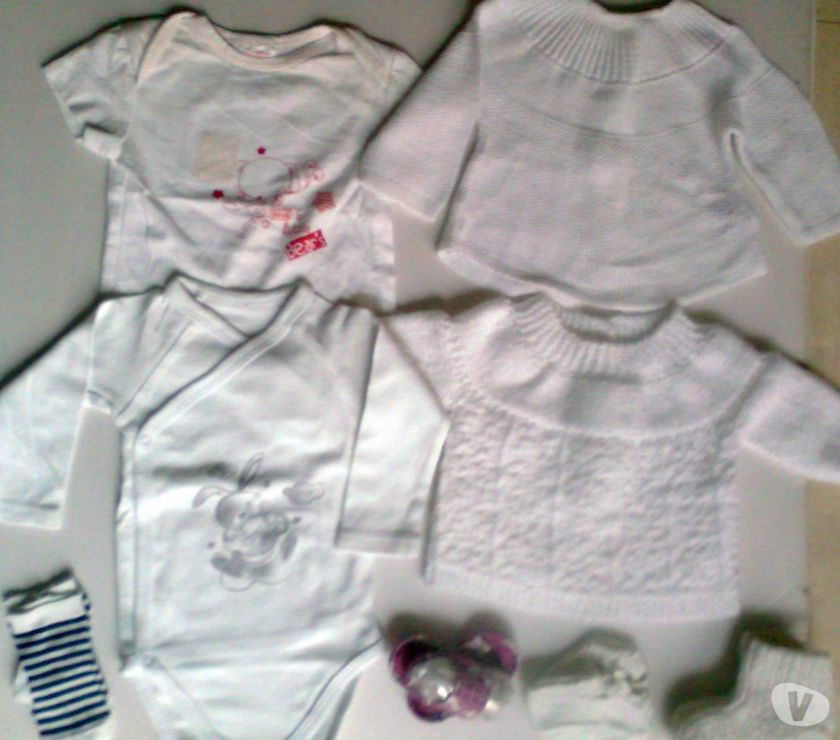 Photos Vivastreet veste.brassière,body, t.shirt...naiss.- zoe