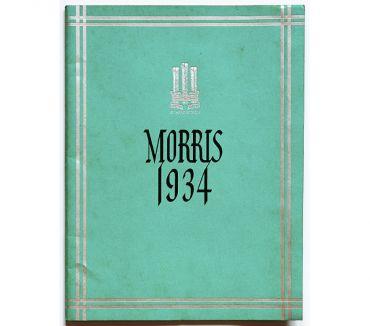 Photos Vivastreet Rare catalogue Morris 1934