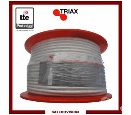 Photos Vivastreet Câble Coaxial 17 VAtCa cc LTE Triax Longueur 100 m
