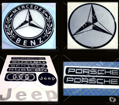 Photos Vivastreet Stickers Doming (relief) personnalisés Autos