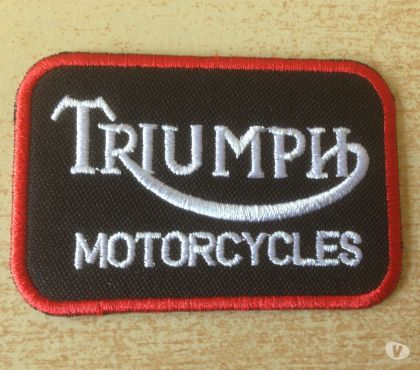 Photos Vivastreet Écusson triumph motor cycles thermocollant noir